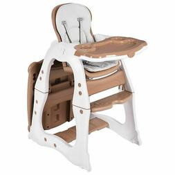 3 in 1 Baby High Chair Convertible Play Table Seat Booster T
