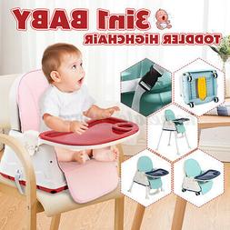 Baby High Chairs Feeding Dining Booster Table Seat Highchair