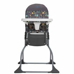 Compactable Cosco Simple Fold High Chair with Adjustable Tra