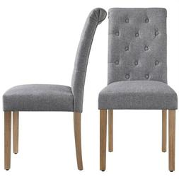 Dining Chairs High Back Padded Classic Dining Chair Home Kit