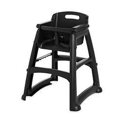 Rubbermaid Commercial Sturdy Chair Youth Seat High Chair, Bl