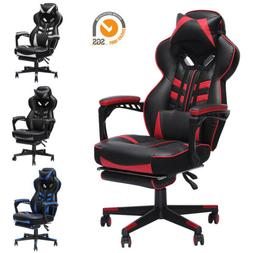 GAMING Chair High Back Recliner Office Desk Swivel Seat RACI