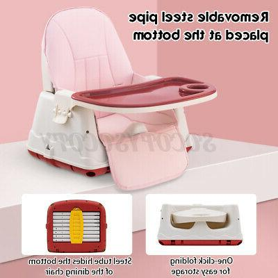 3 in 1 Baby High Chair Table Seat Booster Feeding Tray