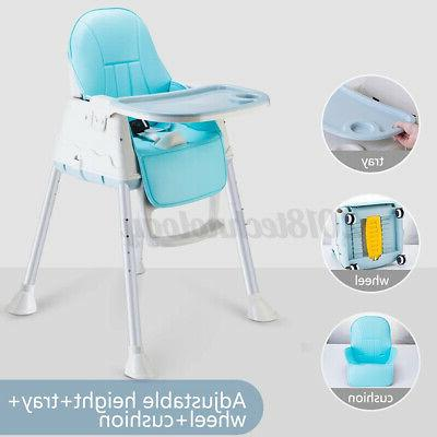 3in1 baby high chairs adjustable feeding dining