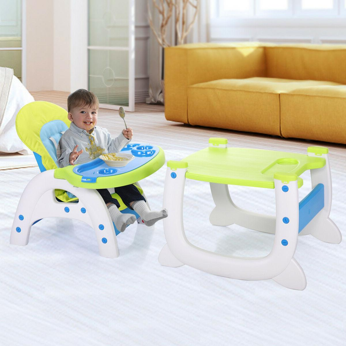 Baby High Chair Table 3 Play w/Tray