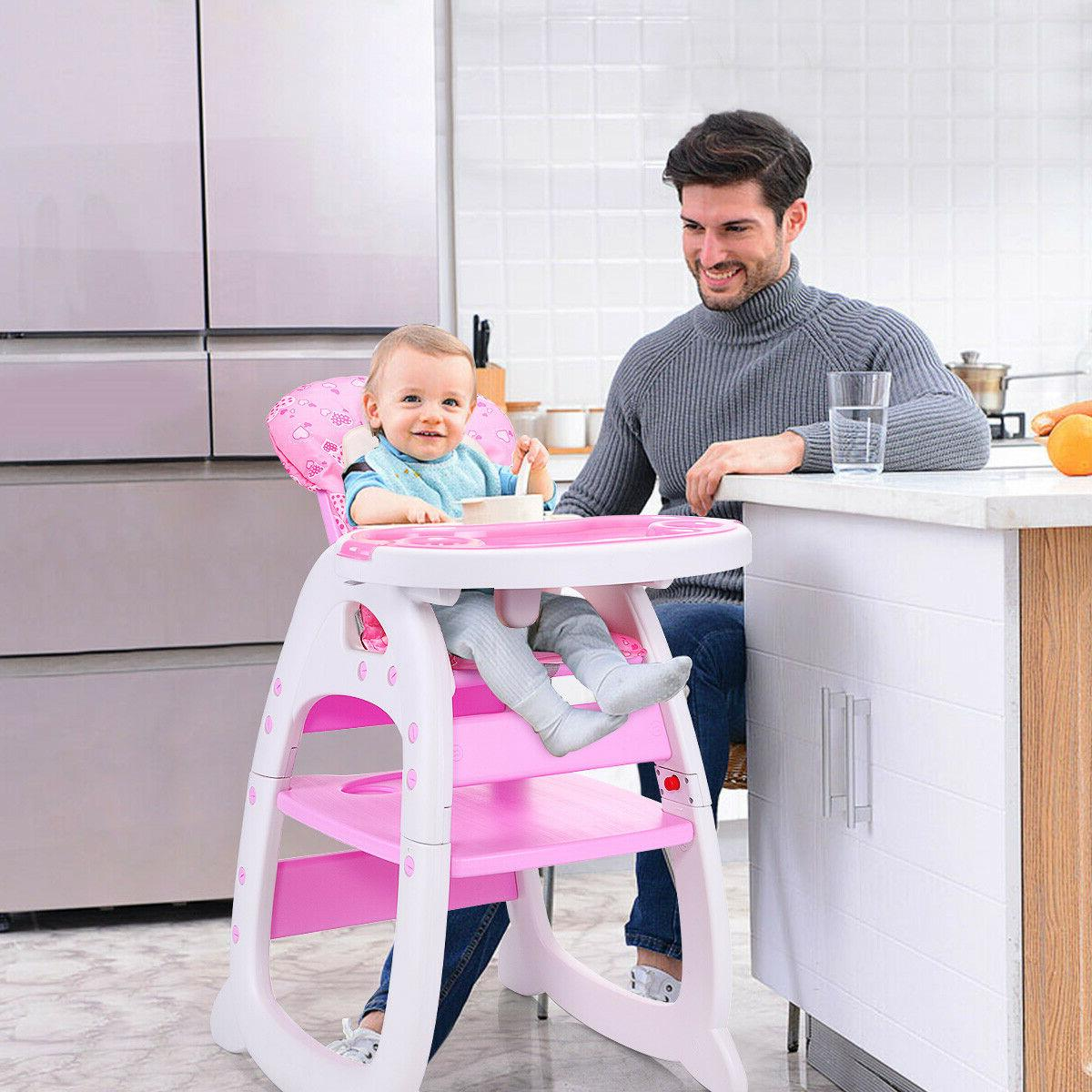 Baby High Chair 3 in Play Booster