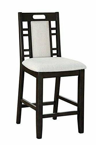 seat counter height dining high chair set