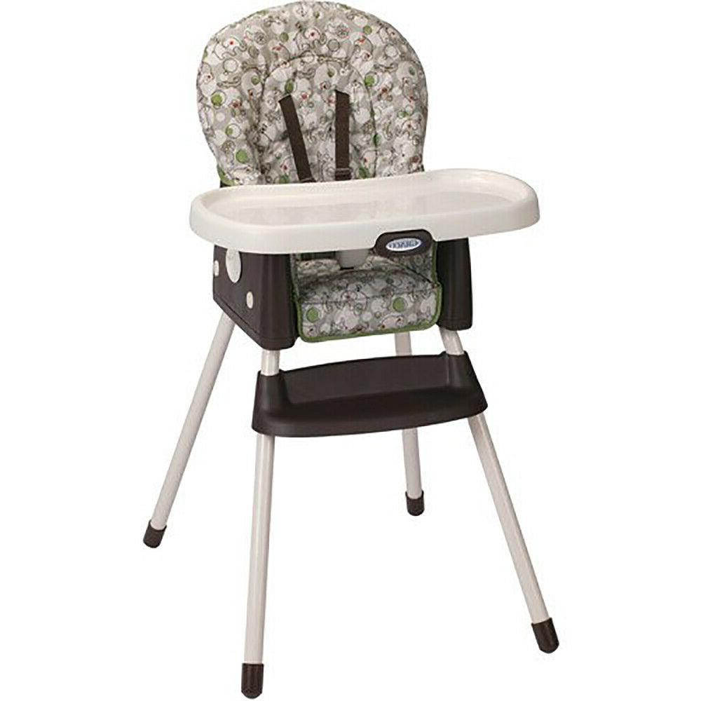 simpleswitch 2 in 1 convertible highchair zuba