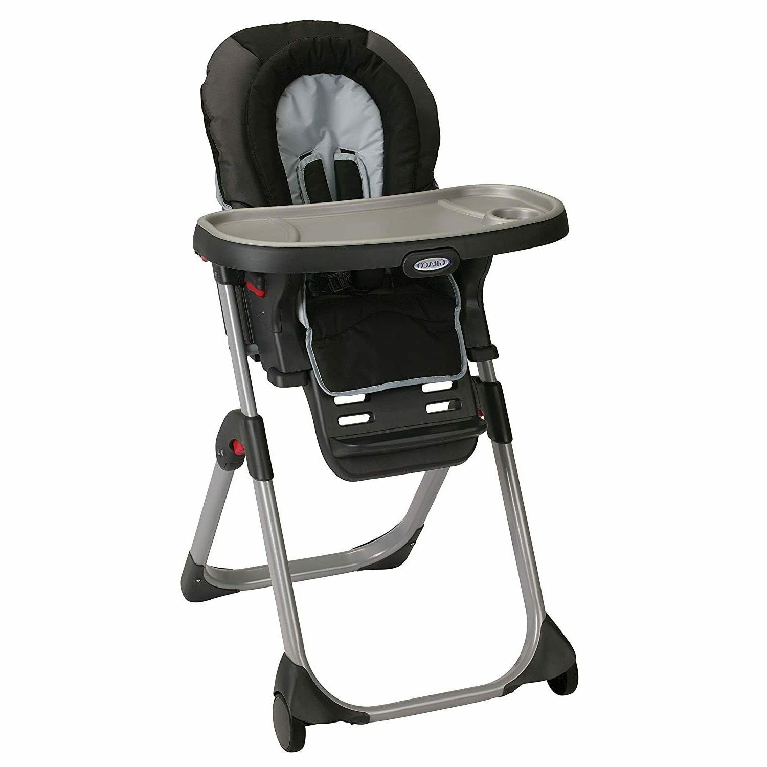duodiner lx high chair converts to dining