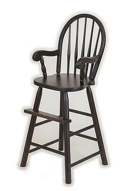 Oak Bow Back Youth Booster High Chair Child Toddler USA Hand