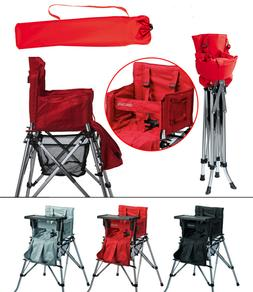 One2Stay Portable High Chair foldable for travel, camping -