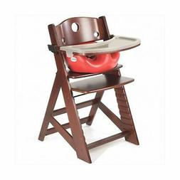 Keekaroo Height Right High Chair, Infant Insert and Tray Com