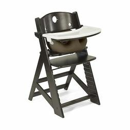 Keekaroo Height Right High Chair Espresso with Chocolate Inf