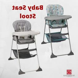 High Chair Slim Snacker Toddle Chair Foldable Compact Design