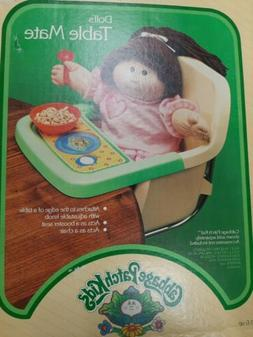 VINTAGE 1980s HASBRO CABBAGE PATCH KIDS TABLE MATE HIGH CHAI